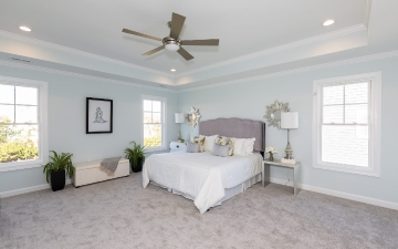 The Glendale Model Master Bedroom