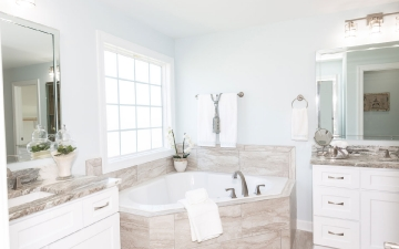 The Glendale Model Master Bath